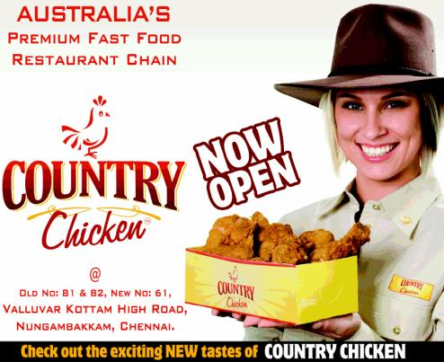 Country Chicken To Enter Indian Market Sme Lead